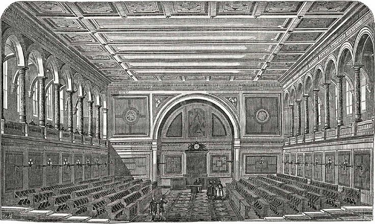 the chamber of the old house of representatives