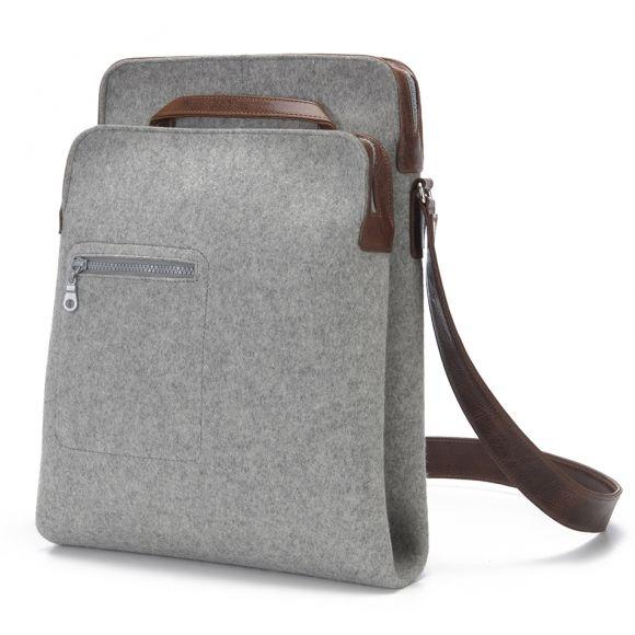 Zip-Top Messenger grey | Graf & Lantz Absolutly stunning...