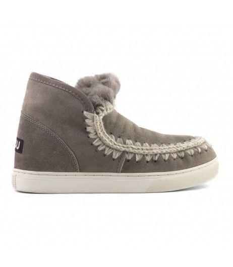 Mou Eskimo Sneaker Man Elephant Grey #winterfashion #winterboots #mouboots