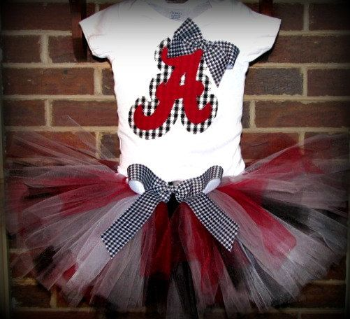 Except Packer colors... Or USC.  :)Little Girls, Alabama Football Baby, Future Daughter, Baby Girls, Crimson Tide, Gameday Outfit, Alabama Tutu, Roll Tide, Alabama Rolls Tide Clothing