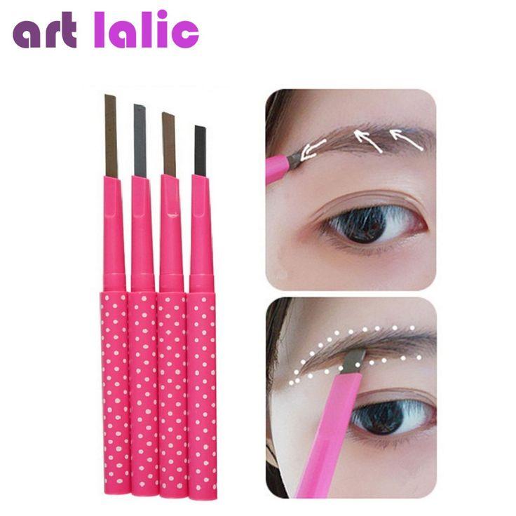 New 2016 Waterproof Dark Brown Eyebrow Pencil Eye Brow Liner Powder Shaper Makeup Tool