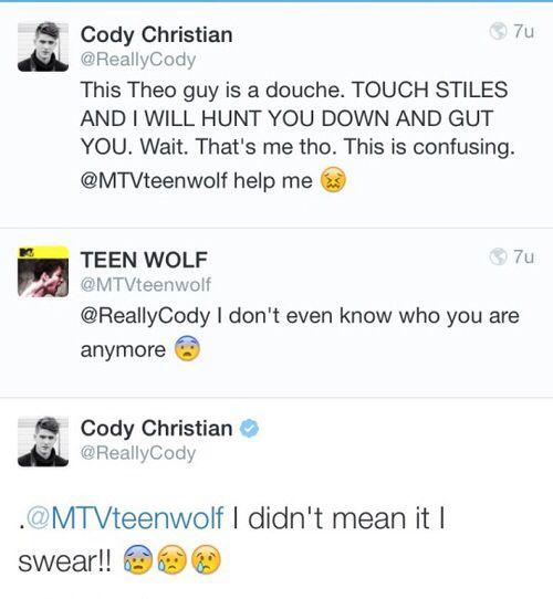 Teen Wolf season 5 - Cody Christian