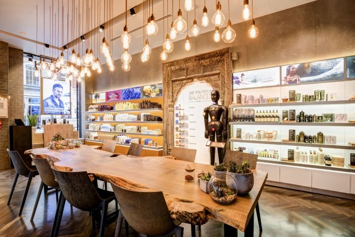 Fresh Lifestyle – Aveda Lifestyle Salon by Reis Design, London – UK » Retail Design Blog