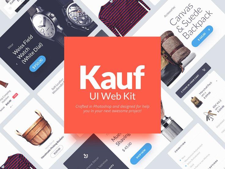 Kauf UI Web Kit Sample