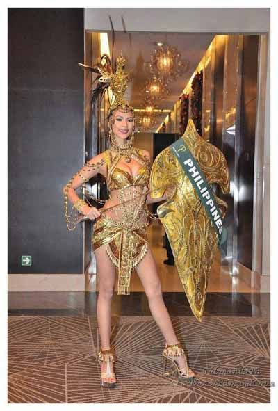 National Costume by Miss Philippines - Miss Earth 2013 ...