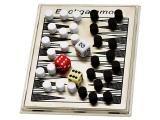 Mini Jogo de Gamão c/ Peças Magnéticas - Incasa