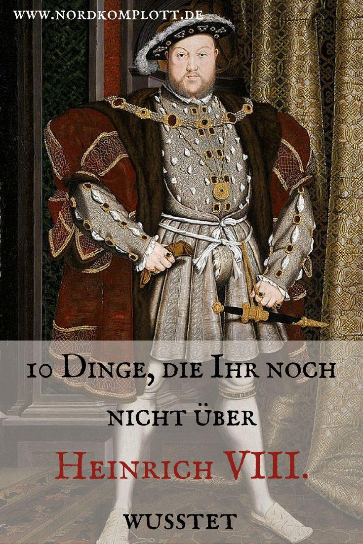 Viel wird über König Heinrich VIII. geredet, und viel habe ich hier auch schon über ihn geschrieben. Aber wusstet Ihr schon, dass…
