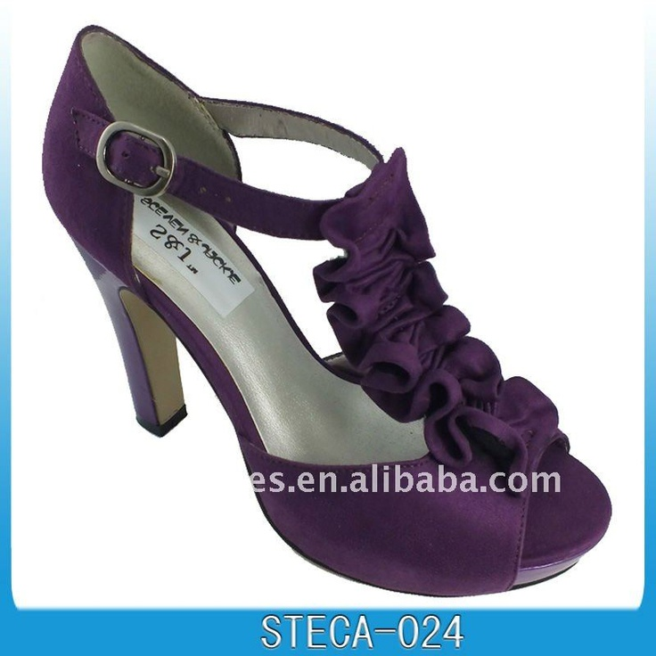 open toe purple dress shoes ... yes please!!!!