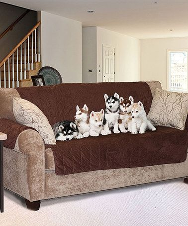 Leather Sectional Sofa Look at this Furhaven Pet Products Clay Microsuede Sofa Protector on today