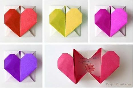 Diy Origami Heart-Box