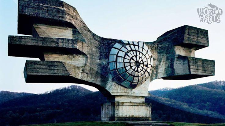 28 de MONUMENTE abandonate din fosta IUGOSLAVIE