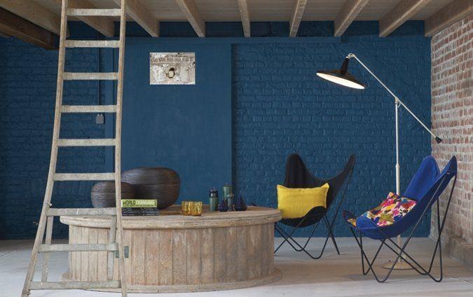 Woonkamer Vintage Blue: About woonkamer on modern armchair met and ...