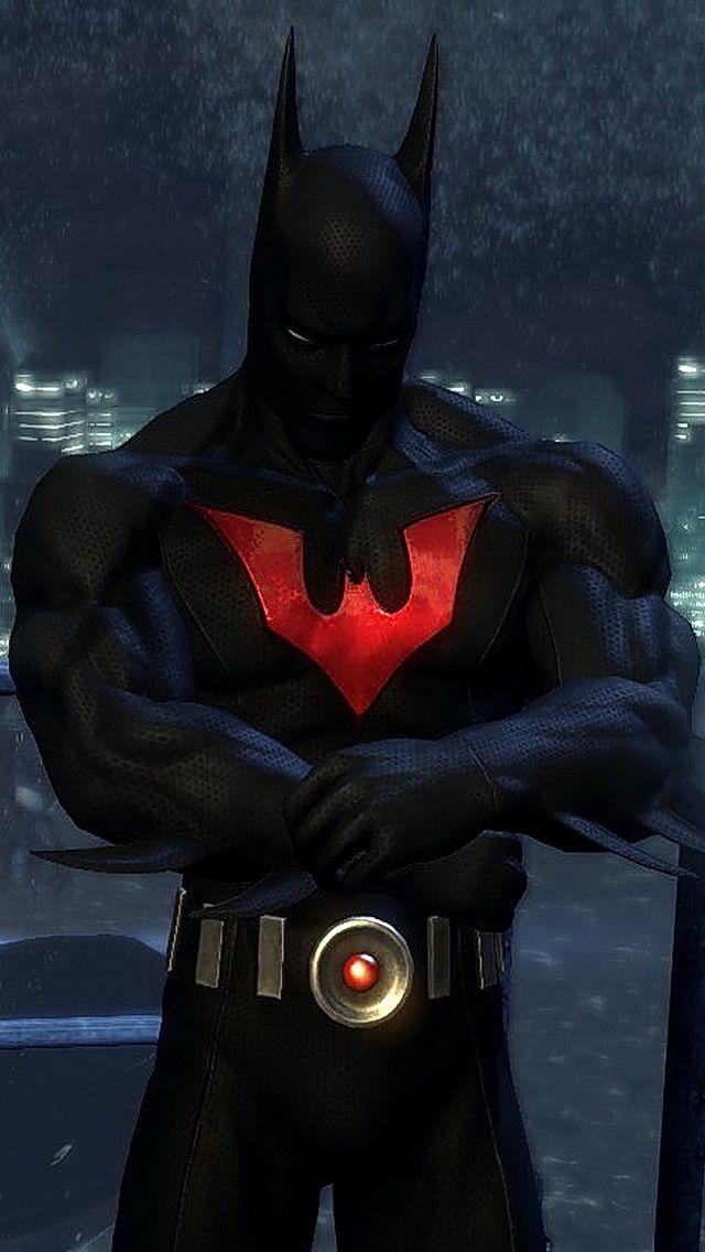 batman beyond costume   Full Body Suited Superheros   Batman Arkham City Batman Beyond Flying
