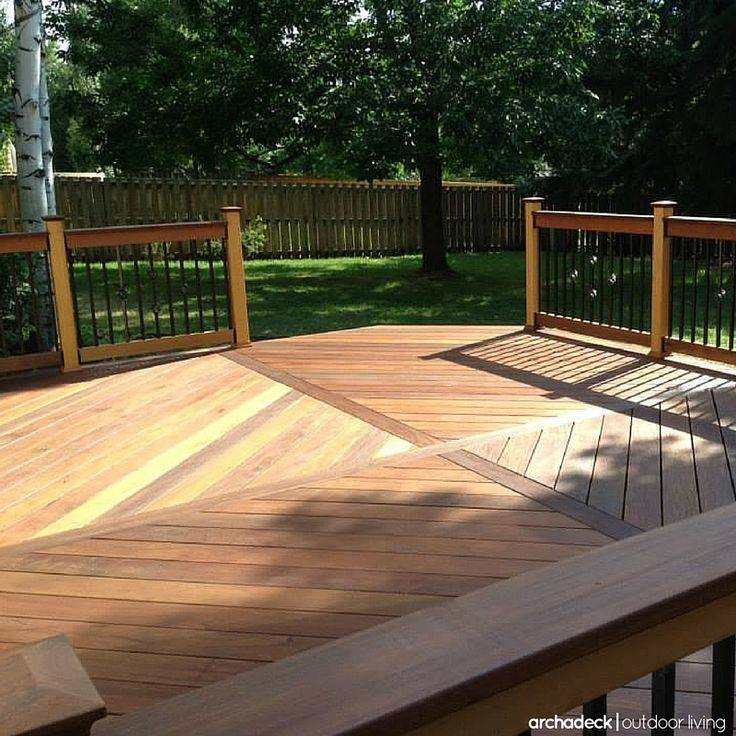 114 best images about wood and hardwood deck ideas on for Synthetic deck material