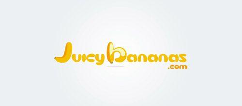 juicy bananas logo designs