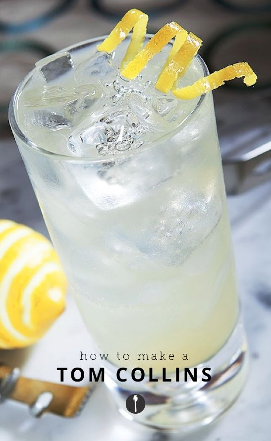 How to make your own Tom Collins -- a light refreshing cocktail.