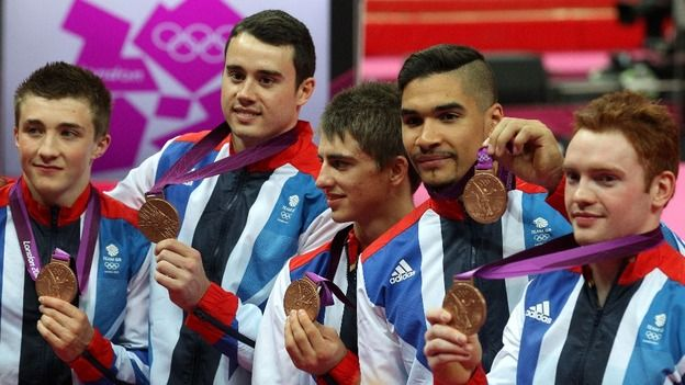 Team GB win gymnastics bronze - ITV News