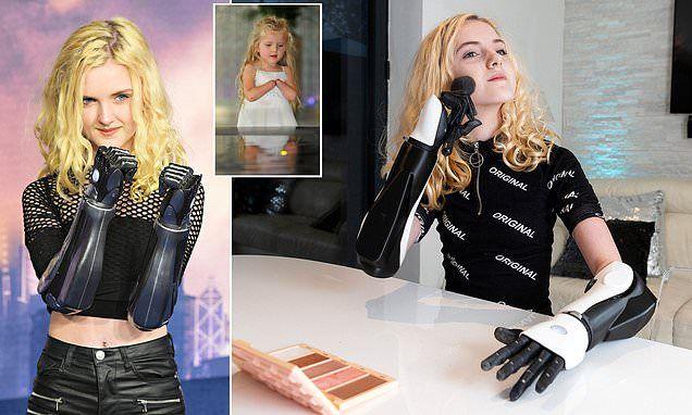 Bionic girl Tilly Lockey | Bionic woman, Tillys, Bionic