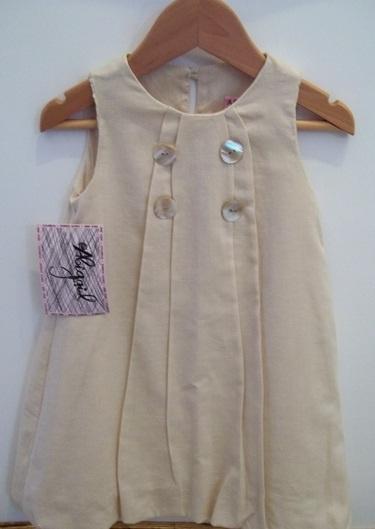 Abigail Childrenswear Cotton linen dress