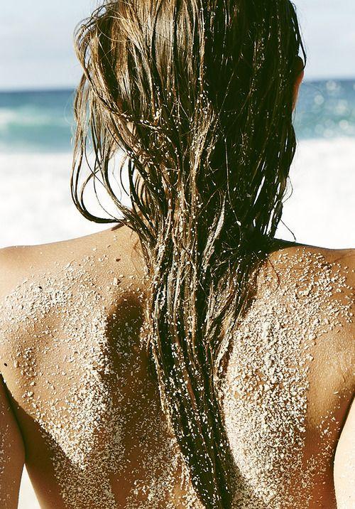 sandy hair don't care // summer // beach // photography