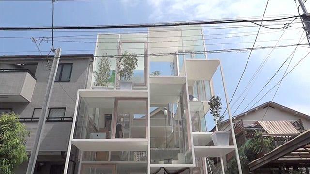 by sou fujimoto: Boxes House, Favorite Places, Tokyo Japan, Glasses Wall, Fujimoto Architects, Glasses Boxes, Architecture, Sou Fujimoto, Glasses House