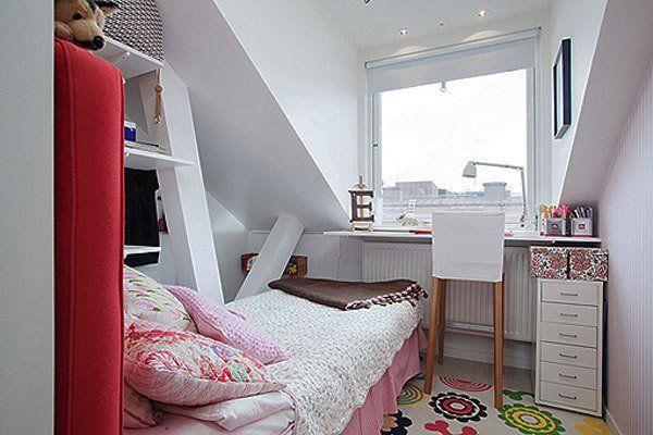 Zucht... zoveel spullen, maar zo weinig ruimte! Een kleine kamer met alle nodige spullen leuk inrichten is een uitdaging, maar absoluut mogelijk. Girlscene zocht tips en inspiratie om jouw kleine kamertje zo leuk mogelijk te maken!