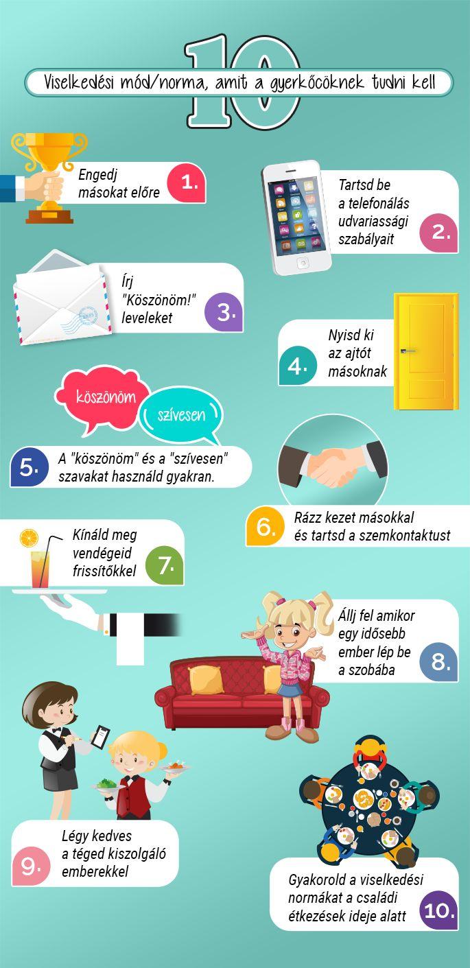10 dolog, amit minden gyereknek tudni kell :)