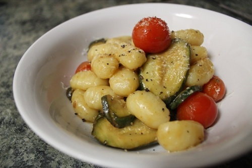 Gnocchi with Summer Vegetables   The Veggie Mama