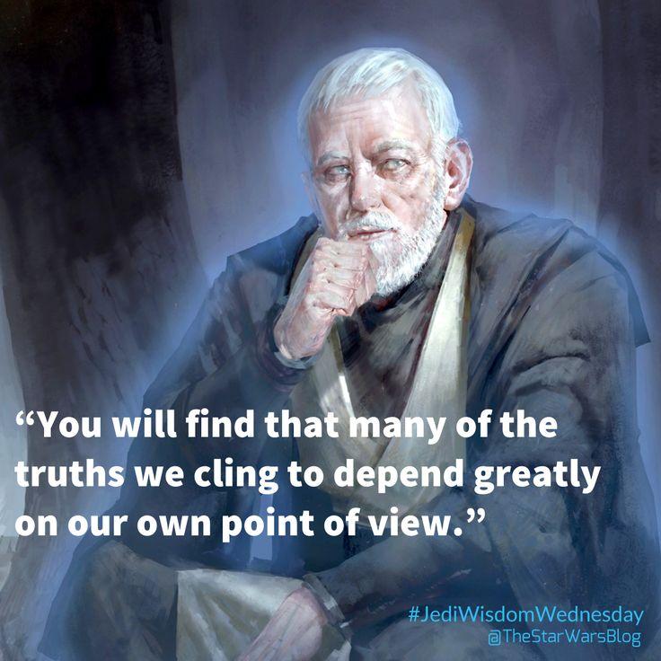 Obi-Wan Kenobi speaks the truth!