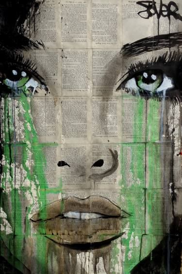 "Saatchi Art Artist Loui Jover; Drawing, ""forest"" #art"