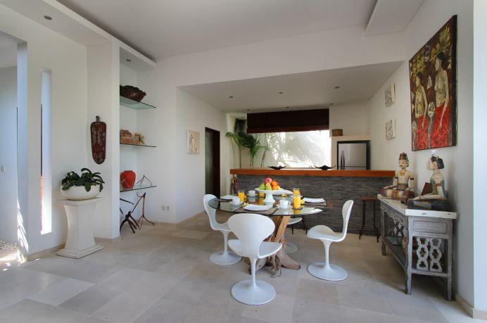 #RuangMakan dan #Dapur dengan desain modern
