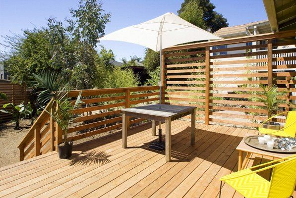 Deck and Privacy Screen