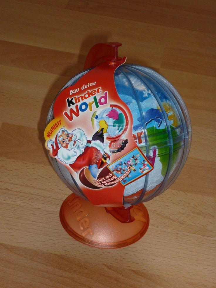 Üei Maxi Ei Bau deine Kinder World Landkarte Weihnachtsmann Weltkugel Globus | eBay