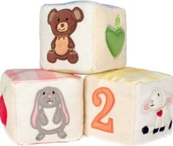 Apple Park Picnic Pals made from 100% organic cotton and natural silk, $35.95