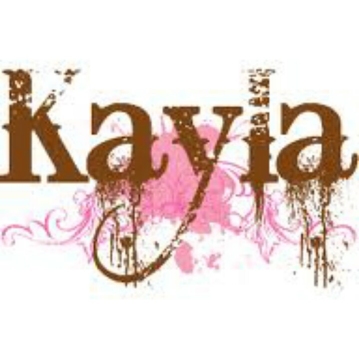 how to draw the name kayla