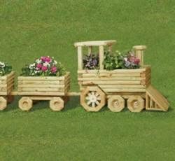17 best images about wooden planters on pinterest for Wooden locomotive plans