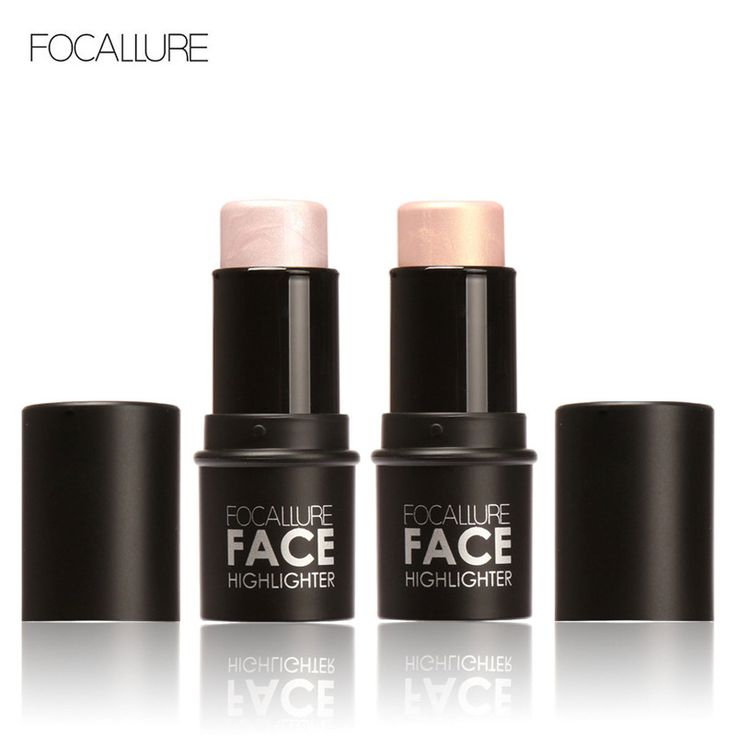 Focallure Bling Highlighter stick All Over Shimmer Highlighting Powder Creamy Texture Water-proof Silver Shimmer Light <3 Details on product can be viewed by clicking the VISIT button