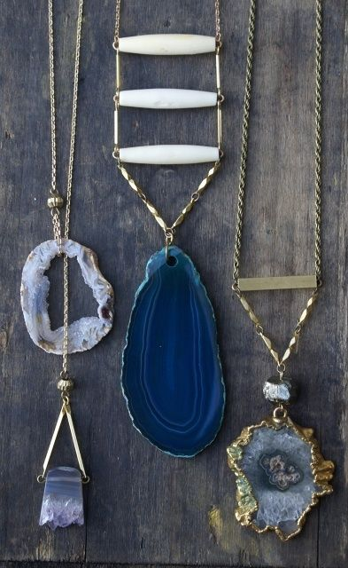 Agate necklaces (scheduled via http://www.tailwindapp.com?utm_source=pinterest&utm_medium=twpin&utm_content=post11837002&utm_campaign=scheduler_attribution)