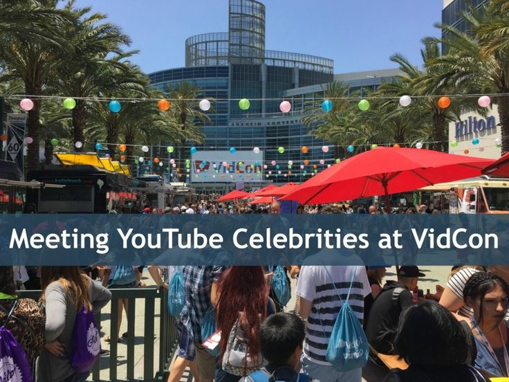 Going to VidCon? Find the best hotel, get tips on where to find YouTube celebrities & find out who we saw!