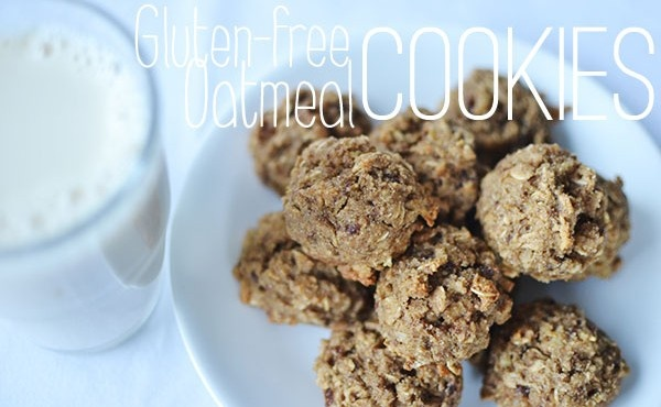 A GLUTEN-FREE, VEGAN COOKIE FUSION OF OATS, COCONUT, & WALNUTS!