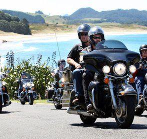 Bularangi Motorbikes - New Zealand Harley Davidson rental and tours.