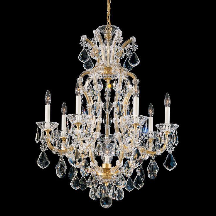 crystal list lighting schonbek