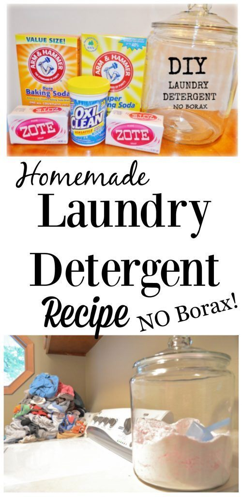 Homemade Laundry Detergent recipe - no borax - I did this for a few years and saved a ton of money! I LOVE this diy laundry detergent recipe. It cleans great and definitely helped our budget when things were tight. Great frugal recipe.
