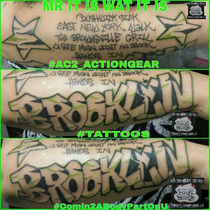 Brooklyn graffiti tattoo fabolous lyrics tattoo stars tattoo stripes