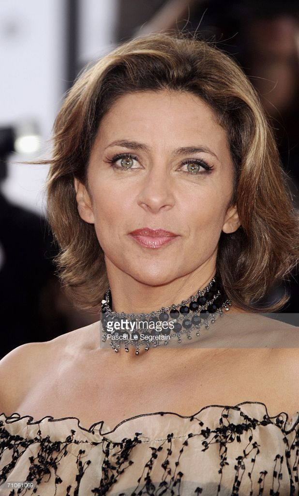 Actress Corinne Touzet attends the 'Quand J'Etais Chanteur' premiere...