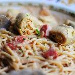 Spaghetti with Artichoke Hearts and Tomatoes | Recipe | Artichokes ...