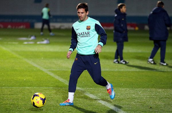 Messi ya entrena con el grupo, pero en principio no jugará contra el Elche – Diario Franjiverde