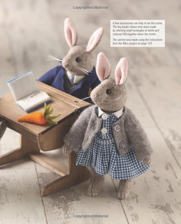How to Sew Little Felt Animals: Bears, Rabbits, Squirrels and Other Woodland Creatures: Amazon.co.uk: Sue Quinn: 9781782210702: Books