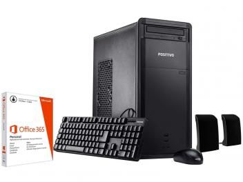 Computador Positivo Premium DR7560 Intel Core i3 - 4GB 1TB Windows 10 + Pacote Office 365