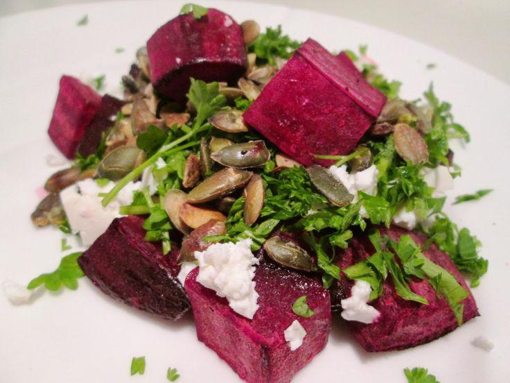 En verden af smag!: Salat af Bagte Rødbeder og Feta